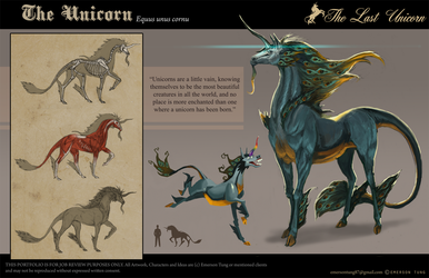 The Last Unicorn - Unicorn by emersontung