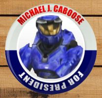 Caboose for President Badge by Robin-chan33