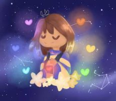 outertale frisk by GalaxiaStar380