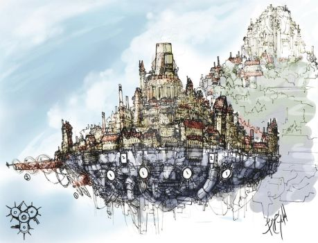 concept.SteamCity by junon