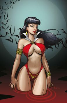 Vampirella by MichaelMetcalf