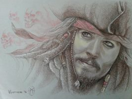 Captain Jack Sparrow by whiteshaix