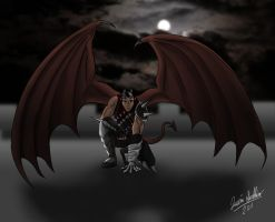 Kye the Demon-Kin Assassin by Saber-Scorpion