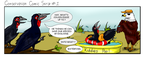 Conservation Comic Strip #1 by Redwingsparrow