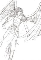 Warrior Angel by Creheda