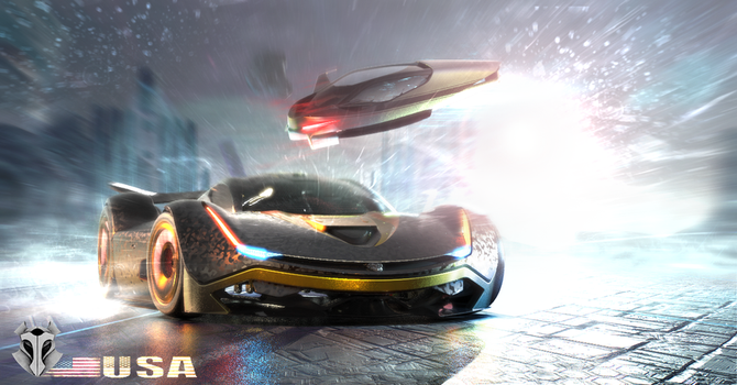 Police Chase 2-Futuristic by John2damax