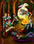 Camp Fire by artico
