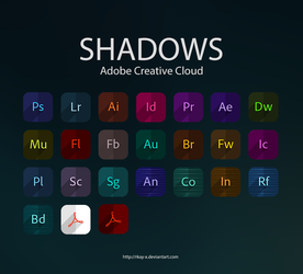 SHADOWS Adobe CC Icons by RKay-x
