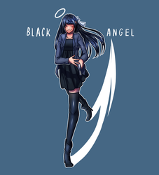 Black Angel by teto-and-rin