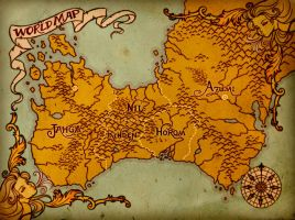Ruined Empire - World Map by ClaudiaCangini