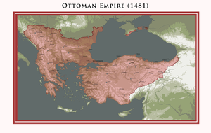 Ottoman Empire - The Reign of Mehmed II (1481) by ShahAbbas1571
