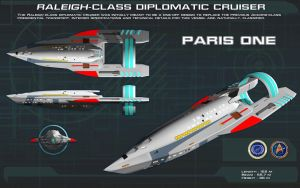 Raleigh-Class Diplomatic Cruiser ortho [new] by unusualsuspex