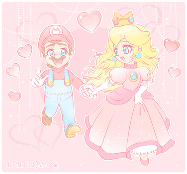 .~The Cutest Couple Ever~. by ThePinkMarioPrincess