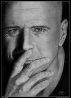 Bruce Willis by iSaBeL-MR