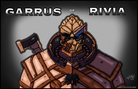 Garrus of Rivia by DawnofStuff