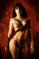 inspired by luis royo by gestiefeltekatze