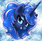 MLP FIM - Puffy Main Luna by Joakaha