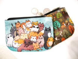 coin pouches by michellescribbles