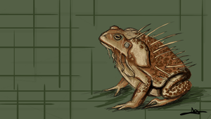 151 - Cane Toad by Shasel