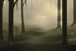 Simple Forest by akaVarwolf