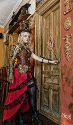 Steampunk Lady by Barbie-Auth