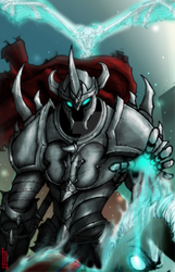 LoL- Mordekaiser by Dane-of-Celestia