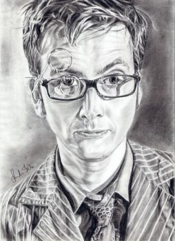 D. Tennant - The Doctor by uwardnas