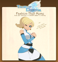 TodA: Fashion Theft Meme by daughter-thursday