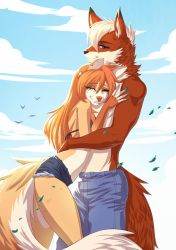 Embrace of love by playfurry