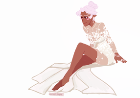 Allura in White. by arrival-layne