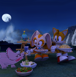 4th of July Dinner. by Spinosaurusking875