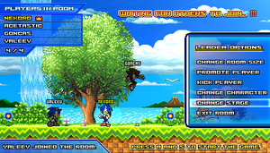 (Sonic vs Darkness) Online Multiplayer Lobby by Kainoso