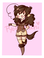 CatGirl Adoptable [SOLD] by PastelPyon