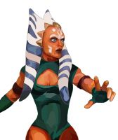 Ahsoka Tano by chocolateRylee