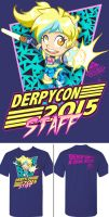 Derpycon 2015 Convention Staff Shirt Design by kevinbolk