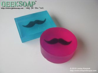 Mustache GEEKSOAP by pinktoque