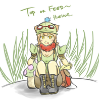 Top or feed by Yama-San