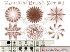 Random Brush Set 2 by DoaC-Res