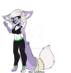 #006 - Lavender Dreams Foxy Adopt [OPEN] by asaraiae