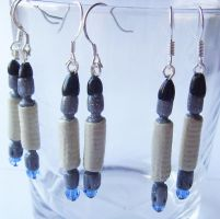 Doctor Who 10th Sonic Screwdriver Earrings by tyney123