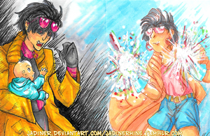 Jubilee -- Two Sides ATC by JadineR
