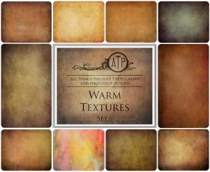 Warm Textures SET 6 by AllThingsPrecious