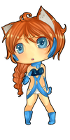 Alpha in Chibi by Gerizep