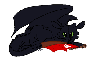 Toothless by xSagefurx