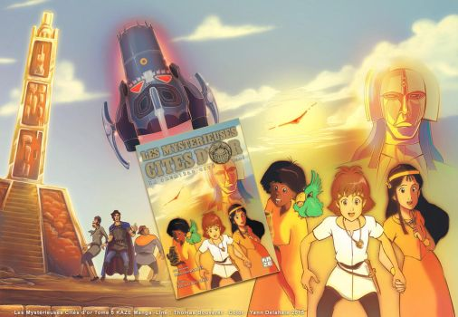Manga The Mysterious Cities of Gold Volume5 by Eacone01