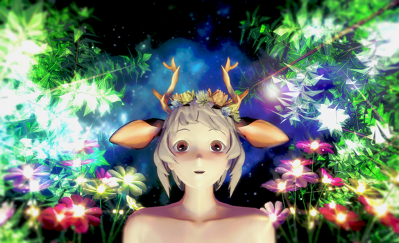 [MMD] Forest of magic by JoanAgnes