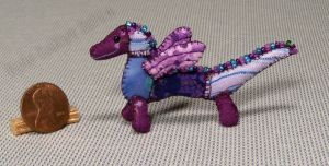 Mini Patchwork Dragon No. 17 by Kyle-Lefort