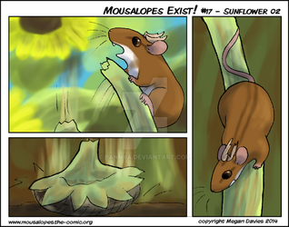 Mousalopes Exist #17 - Sunflower 02 by Pannya