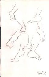 Feet practice 1 by Bella-Who-1