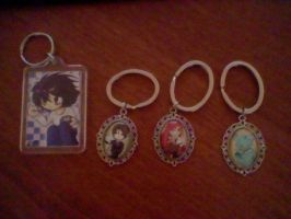 keychains by iRedRose